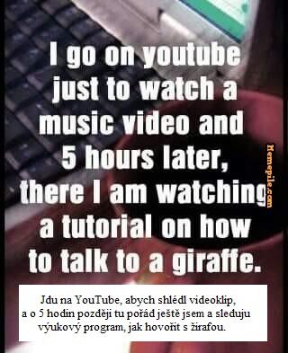 žirafa text
